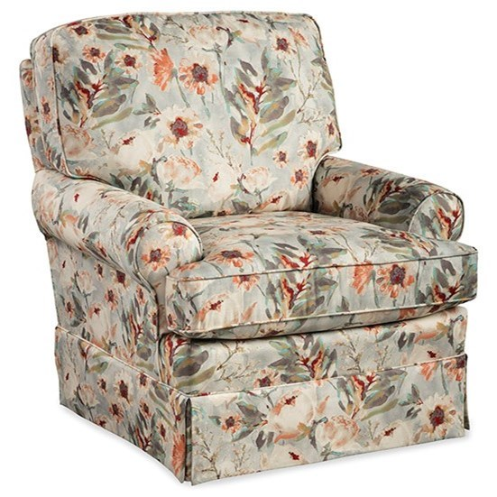 Swivel Swivel Glider Chair with Welt Cord Trim by Best Home Furnishings at Walker's Furniture