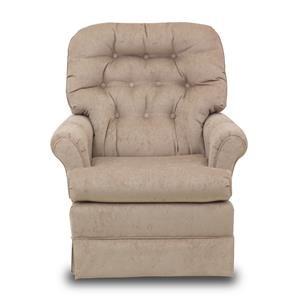 Best Home Furnishings Chairs - Swivel Glide Marla Swivel Rocker Chair