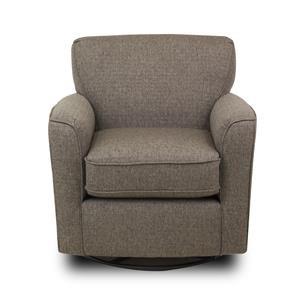 Best Home Furnishings Chairs - Swivel Glide Kaylee Swivel Barrel Chair