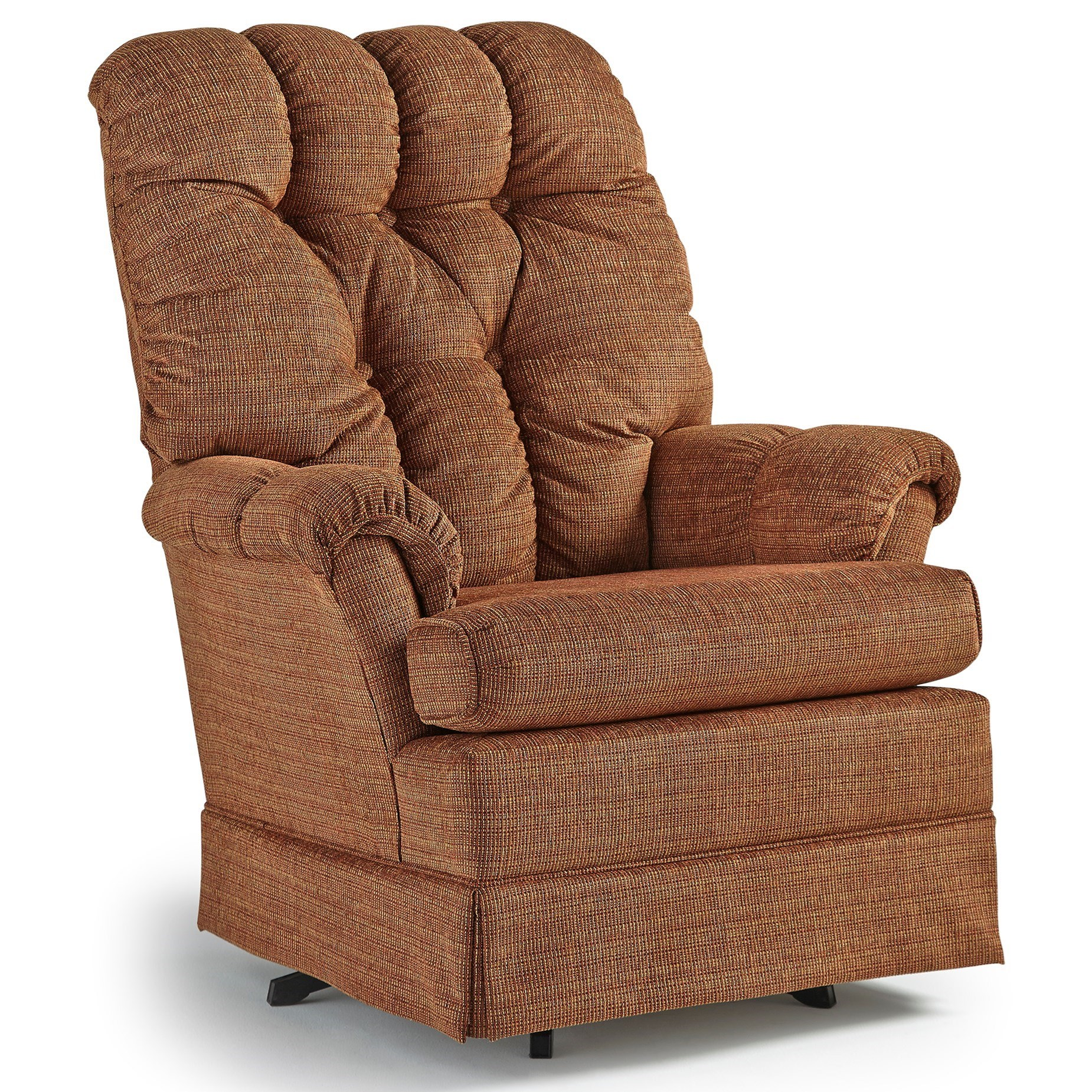 Best Home Furnishings Chairs - Swivel Glide Biscay Swivel Glider Chair - Item Number: 1936