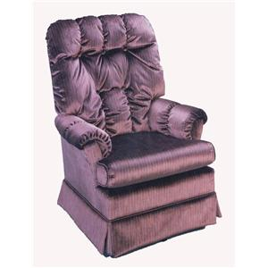Morris Home Furnishings Chairs - Swivel Glide Biscay Swivel Glider Chair