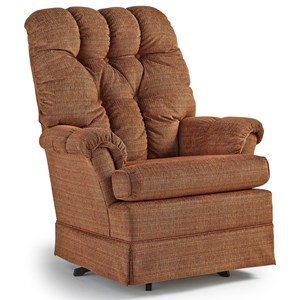 Best Home Furnishings Swivel Glide Chairs Biscay Swivel Rocker Chair