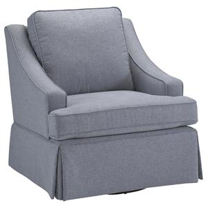 Morris Home Furnishings Chairs - Swivel Glide Ayla Swivel Rocker