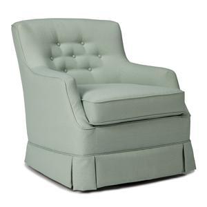 Morris Home Chairs - Swivel Glide Eliza Swivel Glider