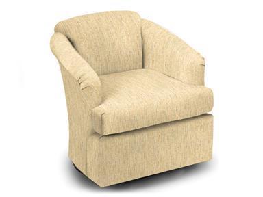 Best Home Furnishings Chairs - Swivel Glide Natasha Swivel Glider and Gliding Ottoman - Item Number: 2567-1  20687