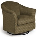 Best Home Furnishings Swivel Glide Chairs Darby Swivel Glider - Item Number: 2877-25796