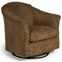 Best Home Furnishings Swivel Glide Chairs Darby Swivel Glider - Item Number: 2877-26019