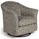 Best Home Furnishings Swivel Glide Chairs Darby Swivel Glider - Item Number: 2877-26083