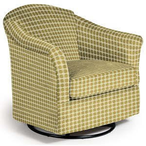 Best Home Furnishings Chairs - Swivel Glide Darby Swivel Glider
