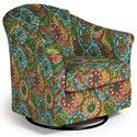 Best Home Furnishings Swivel Glide Chairs Darby Swivel Glider - Item Number: 2877-28118