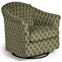 Best Home Furnishings Swivel Glide Chairs Darby Swivel Glider - Item Number: 2877-28423