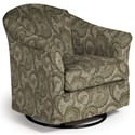 Best Home Furnishings Swivel Glide Chairs Darby Swivel Glider - Item Number: 2877-28529