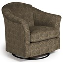 Best Home Furnishings Swivel Glide Chairs Darby Swivel Glider - Item Number: 2877-28733