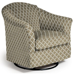 Best Home Furnishings Swivel Glide Chairs Darby Swivel Glider