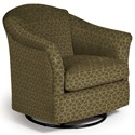 Best Home Furnishings Swivel Glide Chairs Darby Swivel Glider - Item Number: 2877-29095