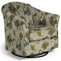 Best Home Furnishings Swivel Glide Chairs Darby Swivel Glider - Item Number: 2877-29139