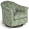Best Home Furnishings Swivel Glide Chairs Darby Swivel Glider - Item Number: 2877-30562