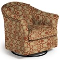 Best Home Furnishings Swivel Glide Chairs Darby Swivel Glider - Item Number: 2877-30564