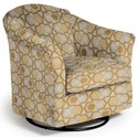 Best Home Furnishings Swivel Glide Chairs Darby Swivel Glider - Item Number: 2877-30565