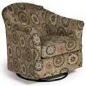 Best Home Furnishings Swivel Glide Chairs Darby Swivel Glider - Item Number: 2877-31223
