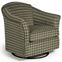 Best Home Furnishings Swivel Glide Chairs Darby Swivel Glider - Item Number: 2877-32183B