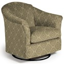 Best Home Furnishings Swivel Glide Chairs Darby Swivel Glider - Item Number: 2877-34569