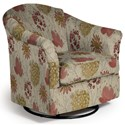Best Home Furnishings Swivel Glide Chairs Darby Swivel Glider - Item Number: 2877-34618