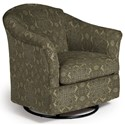Best Home Furnishings Swivel Glide Chairs Darby Swivel Glider - Item Number: 2877-34656