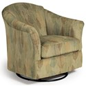 Best Home Furnishings Swivel Glide Chairs Darby Swivel Glider - Item Number: 2877-34911