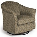 Best Home Furnishings Swivel Glide Chairs Darby Swivel Glider - Item Number: 2877-35239