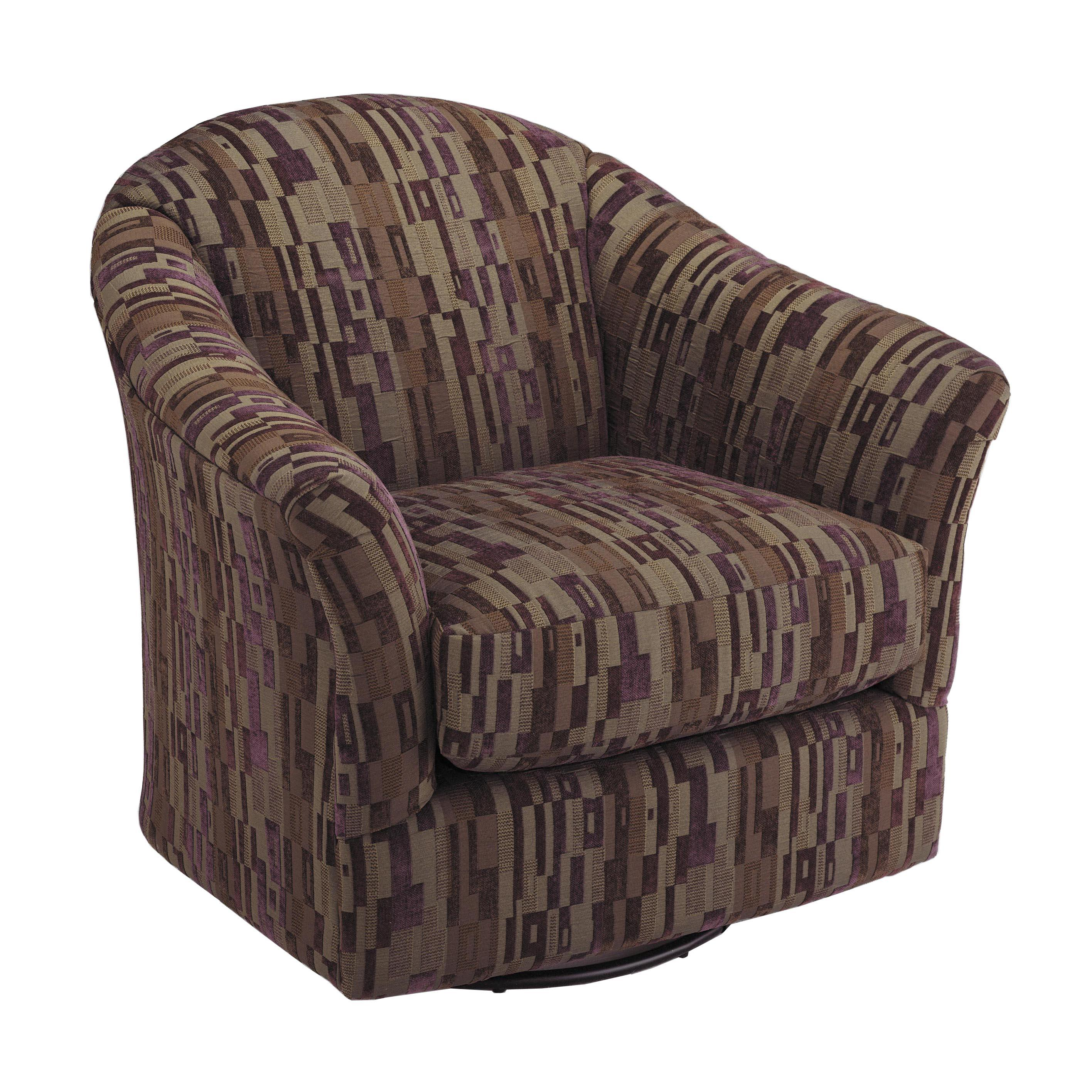 Vendor 411 Chairs Swivel Glide Darby Swivel Glider Chair