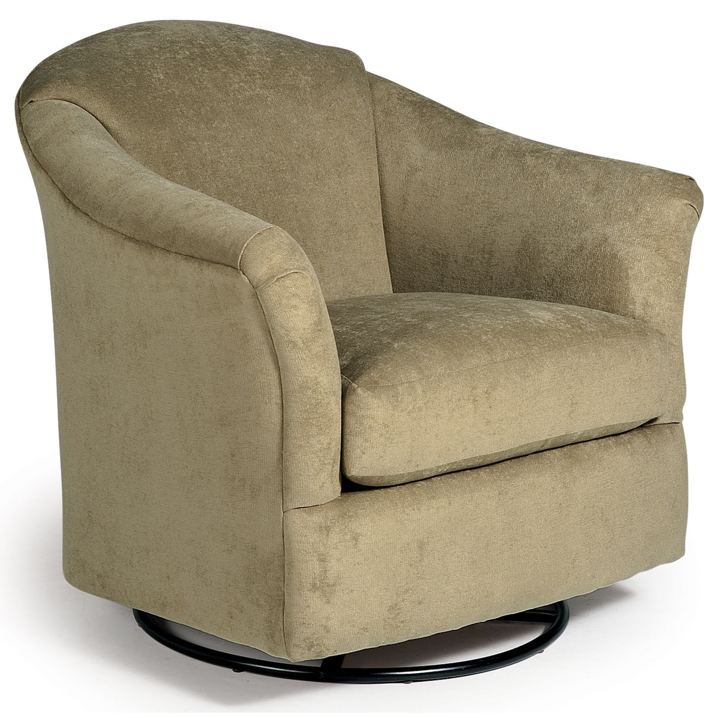 Best Home Furnishings Chairs - Swivel Glide Darby Swivel Glider - Item Number: 2877