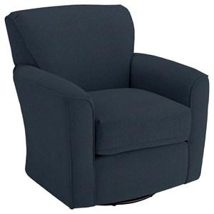 Amazing Best Home Furnishings Chairs Swivel Barrel Starting At Machost Co Dining Chair Design Ideas Machostcouk
