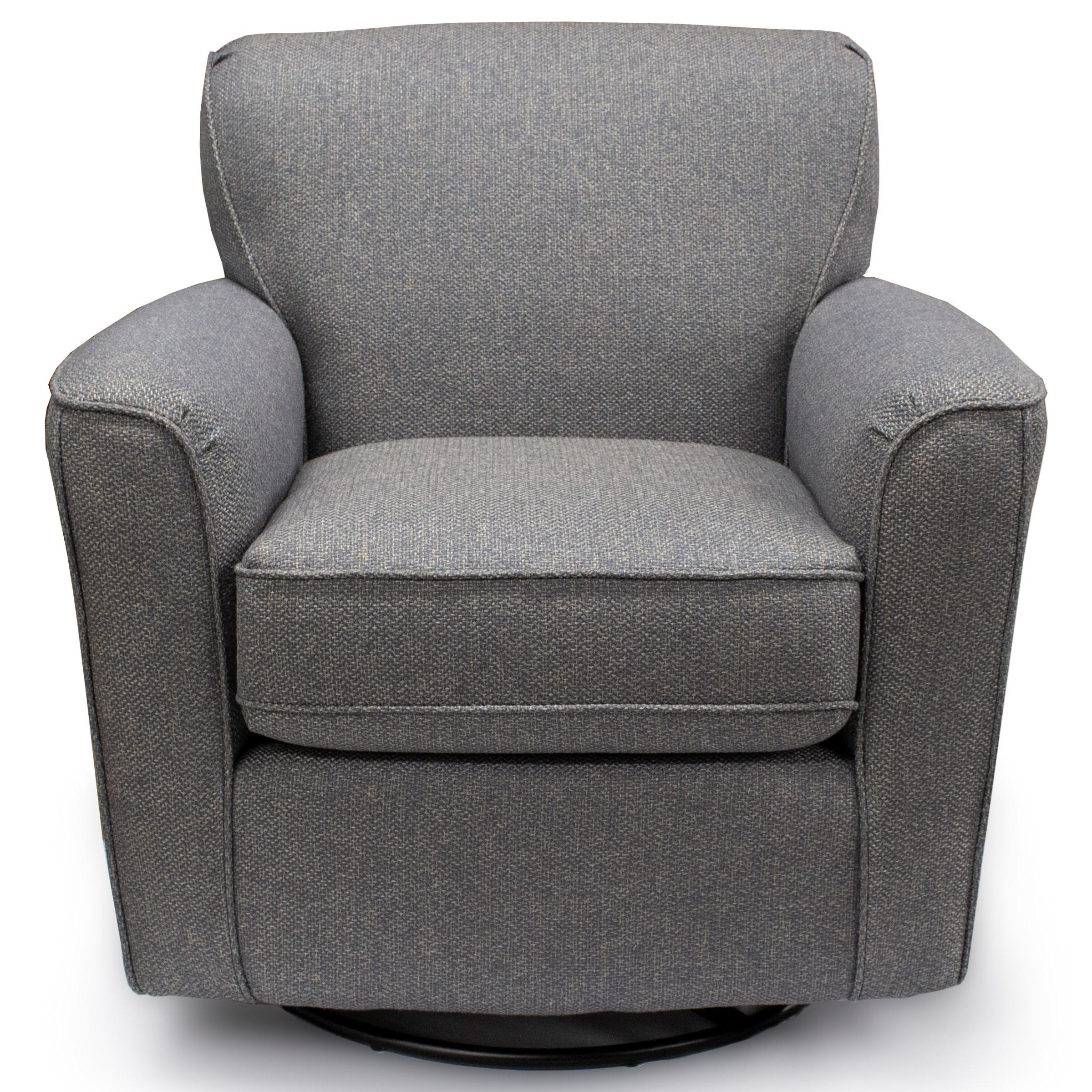 Vendor 411 Swivel Glide Chairs 2887 Kaylee Swivel Barrel