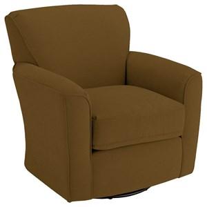 Kaylee Swivel Barrel Chair