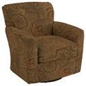 Best Home Furnishings Swivel Glide Chairs Kaylee Swivel Barrel Chair - Item Number: 2887-26019