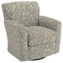 Best Home Furnishings Swivel Glide Chairs Kaylee Swivel Barrel Chair - Item Number: 2887-26082