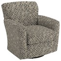 Best Home Furnishings Swivel Glide Chairs Kaylee Swivel Barrel Chair - Item Number: 2887-26083