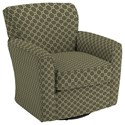 Best Home Furnishings Swivel Glide Chairs Kaylee Swivel Barrel Chair - Item Number: 2887-27063