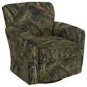 Best Home Furnishings Swivel Glide Chairs Kaylee Swivel Barrel Chair - Item Number: 2887-27235