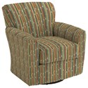 Best Home Furnishings Swivel Glide Chairs Kaylee Swivel Barrel Chair - Item Number: 2887-27624