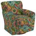Best Home Furnishings Swivel Glide Chairs Kaylee Swivel Barrel Chair - Item Number: 2887-28118