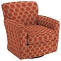 Best Home Furnishings Swivel Glide Chairs Kaylee Swivel Barrel Chair - Item Number: 2887-28424