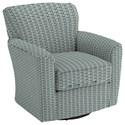 Best Home Furnishings Swivel Glide Chairs Kaylee Swivel Barrel Chair - Item Number: 2887-28702
