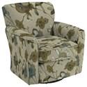 Best Home Furnishings Swivel Glide Chairs Kaylee Swivel Barrel Chair - Item Number: 2887-29139