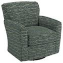 Best Home Furnishings Swivel Glide Chairs Kaylee Swivel Barrel Chair - Item Number: 2887-31432