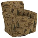 Best Home Furnishings Swivel Glide Chairs Kaylee Swivel Barrel Chair - Item Number: 2887-31767