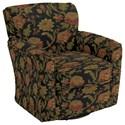Best Home Furnishings Swivel Glide Chairs Kaylee Swivel Barrel Chair - Item Number: 2887-31923