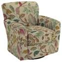 Best Home Furnishings Swivel Glide Chairs Kaylee Swivel Barrel Chair - Item Number: 2887-34389