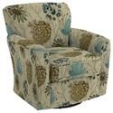 Best Home Furnishings Swivel Glide Chairs Kaylee Swivel Barrel Chair - Item Number: 2887-34612